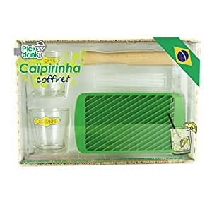 Pick and Drink KDO8551 Coffret Caipirinha Verre 31,5 x 8,5 x 22,3 cm