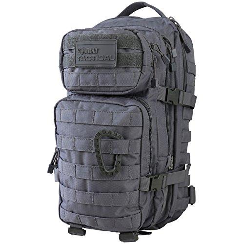 Kombat UK hex-tac klein MOLLE Assault Pack Einheitsgröße Gun Metal grau