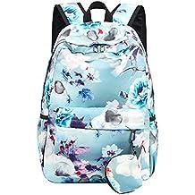 Mujer Casual Mochila Backpack Gran Capacidad Rucksack Para Ordenador Portátil