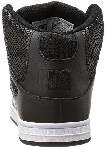 DC Shoes Rebound High TX Se, Sneaker Donna Nero