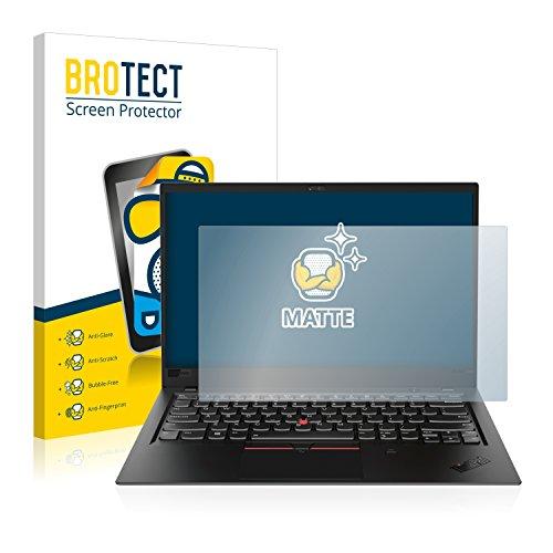 BROTECT Entspiegelungs-Schutzfolie kompatibel mit Lenovo ThinkPad X1 Carbon (6. Generation) (1 Stück) - Anti-Reflex, Matt