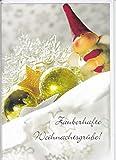 NB24 Karte, Klappkarte, Weihnachtskarte