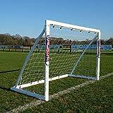 Samba Fußballtor 2,4 x 1,8m / 2,4 x 1,2m / 1,8 x 1,2m · Wetterfestes Fussballtor für Kinder · neuartiges Einrastsystem · 1 Fussballtor Garten