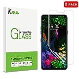 [3 Pack] KATIAN for LG G8 ThinQ Protecteur d'écran, HD Clear Film [Pas En Verre] avec HydrateSkin, [Anti Rayures] [Résistant aux Rayures] Film Protection écran pour LG G8 ThinQ