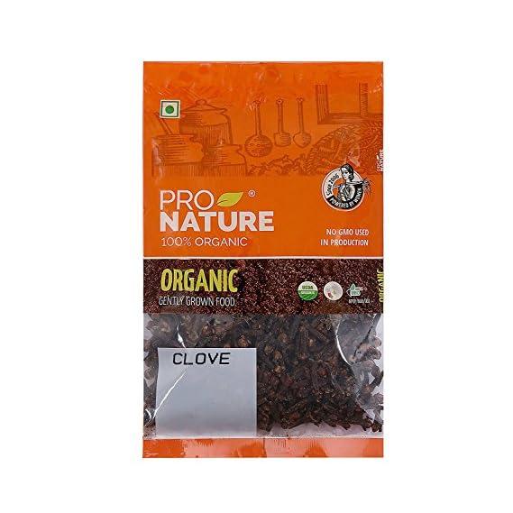 Pro Nature 100% Organic Clove, 50g