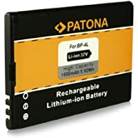 Batería BP-4L | BP4L para Nokia 6650 | 6650 fold | 6760 slide | E6-00 | E52 | E55 | E61i | E63 | E71 | E72 | E90 | E90 Communicator | N97 | N810 | N810 Internet Tablet | N810 WiMAX Edition y mucho más… [ Li-ion, 1600mAh, 3.7V ]