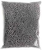 Leisial™ Schaum Perlen Kleine Polystyrol Styropor Mini Perlen Bälle Schwarz(1300-1400 Stücke)