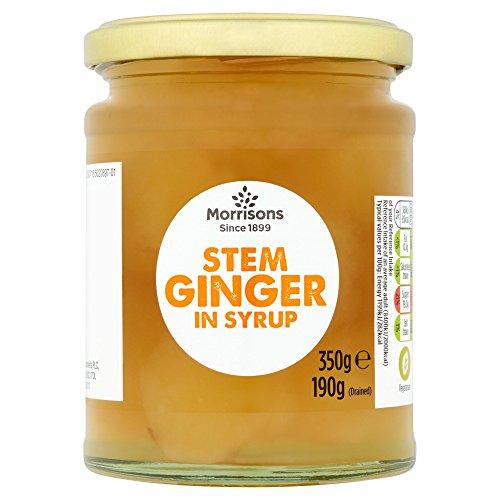 Morrisons Stem Ginger in Syrup, 350g