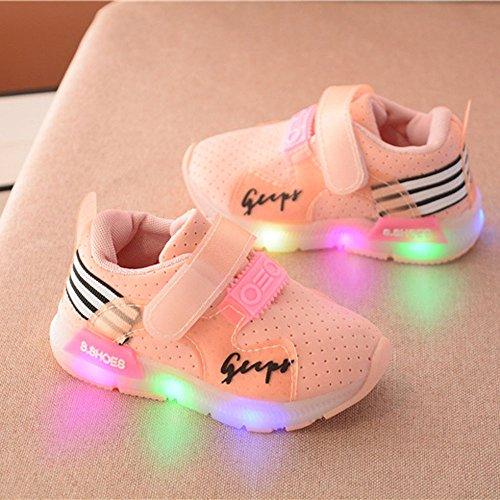 Malloom-Bekleidung Herbst-Kleinkind-Sport-laufende Babyschuh-Jungen-Mädchen LED leuchtende Schuh-Turnschuhe (Für Von Gucci Schuhe Baby)