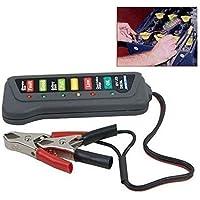 Tester batteria 12V dinamo alternatore LED indicazione stato carica auto moto