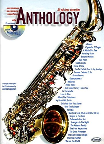 30 All Time Favourites Anthology (Cappellari) Alto Sax Book/CD