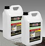 10 Liter GRUNDREINIGER Intensiv Naturstein Reiniger Marmor Fliesen, Stein und Beton L - 20 L Konzentrat
