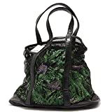 7943S borsa donna GEOX nero sacca interna removibile multicolor handbag  woman  TAGLIA UNICA  2c1b2cd1c67