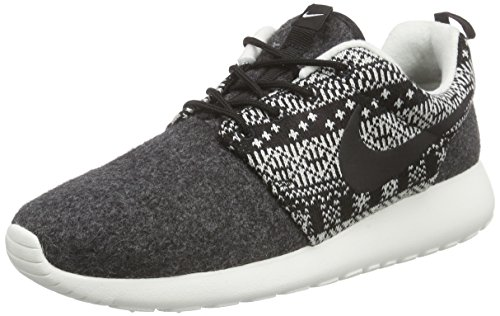 Nike Wmns Roshe One Winter, Chaussures de Sport Femme noir (Black/Black-Sail)