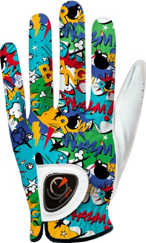easy-glove-comics-bang-guanto-da-golf-uomo-multicolore-s