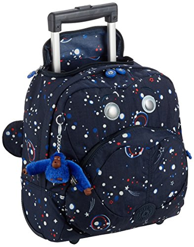 Imagen de kipling  wheely   con ruedas  galaxy party  multi color