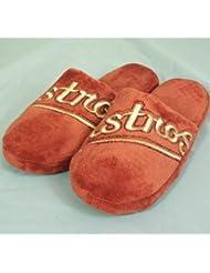 Houston Astros MLB Big Logo Hard Sole Slide Slippers