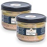 2 Foies Gras de Canard Mi-Cuit - 360 g