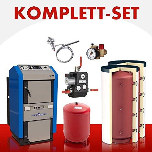 Preisvergleich Produktbild Wasserführender Holzvergaser Atmos DC 30 GSE Komplett-Set