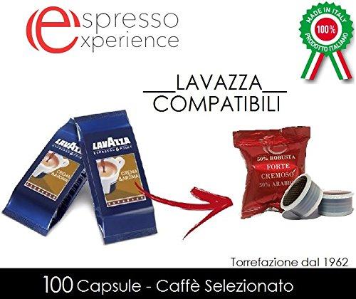 100 capsule Forte Cremoso Lavazza Espresso Point compatibile - Lavazza Espresso Point Capsula Macchina