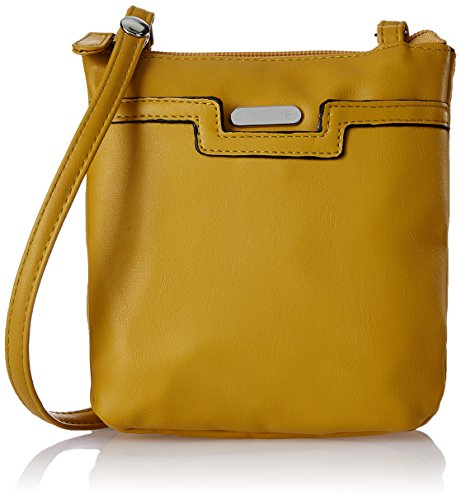 Lavie Women's Sling Bag (Yellow)  available at amazon for Rs.730