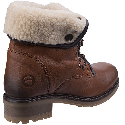 Cotswold Womens/Ladies Asthall Waterproof Breathable Lined Ankle Boots (Fold Boot Ankle Over)