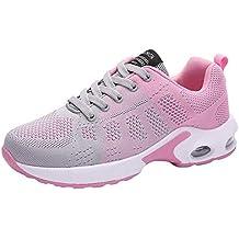 Zapatillas de Deporte Respirable para Correr Deportes Zapatos Running Cojines de Aire Calzado Mecedora Net para