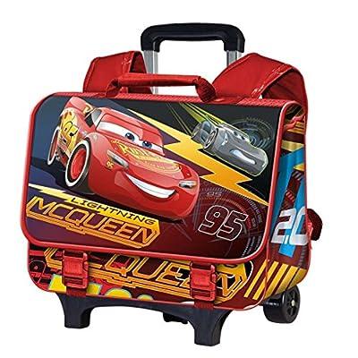 Karactermania Cars 3 Race Mochila Infantil, 41 cm, Rojo de Karactermania