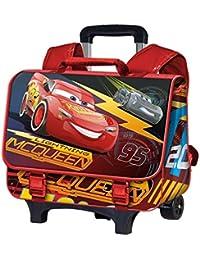 Karactermania Cars 3 Race Mochila Infantil, 41 cm,  Rojo