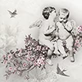 Angelic Chic - paper napkins - 33x33cm - 3ply - Decoupage Floral by PAW