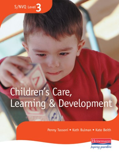 S/NVQ Level 3 Children's Care, Learning and Development Candidate Handbook (S/NVQ Children's Care  Learning and Development)