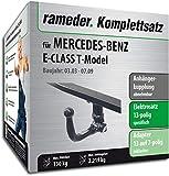 Rameder Komplettsatz, Anhängerkupplung abnehmbar + 13pol Elektrik für Mercedes-Benz E-Class T-Model (113662-04947-1)