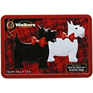 Walkers Rocking Scottie Tin - 1 x 220g