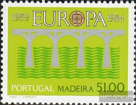 Prophila Madeira (Portugal) 90 (kompl.Ausg.) 1984 25 J. Post- und Fernmeldewesen (Briefmarken für Sammler)