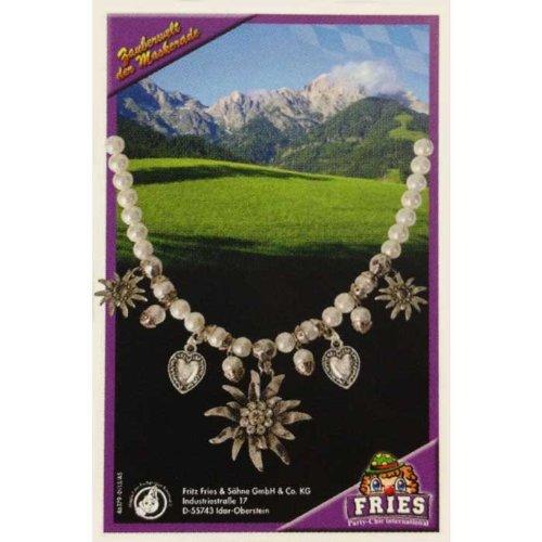 Famowesta 46379 Halskette Dirndlkette Perlen