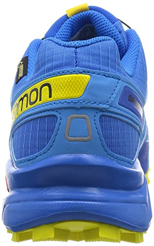 Salomon Speedcross 3 Gtx, Scarpe da Trail Running Uomo Azul (Bright Blue / Process Blue / Gecko Gree)