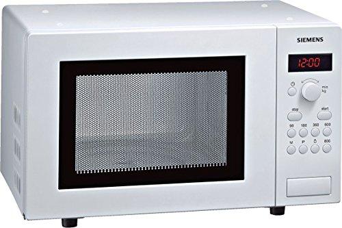 Siemens HF15M241 – Microondas (1270W, 46,2 cm, 32 cm, 29 cm, 230 V, 50 Hz, 462 x 320 x 290 mm) Color blanco