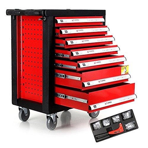 Wagen Werkzeug NEU mit 7Schubladen inkl. Tools Workshop Trolley komplett Tool Box