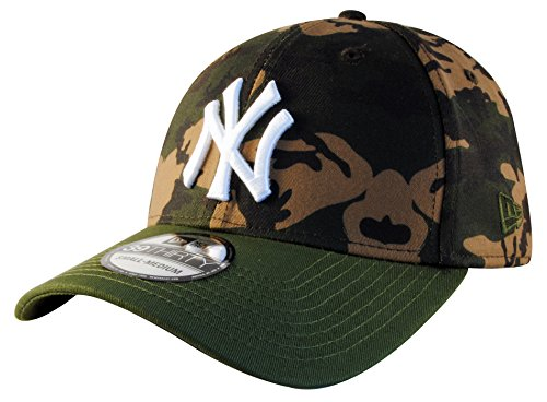 New Era Men Caps/Flexfitted Cap Camo Team Stretch NY Yankees 39Thirty Cap