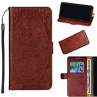 Motorola Moto E5 Play Case, Lyzwn Case Cover for Motorola Moto E5 Play PU Leather Flip Wallet Case with Card Holder Magnetic Closure for Motorola Moto E5 Play Cover