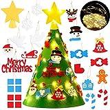 Funpa Feltro Albero Natale 3D DIY Albero Natale Feltro Decorazione…