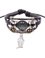 SUYA pulseras,brazalete de cerámica, pendiente de la aleación de espina de pescado, cuentas pulsera, joyas, pulsera creativa, regalo creativo