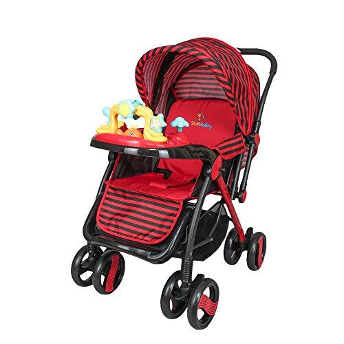 Sunbaby Zootopia Stroller (Red)