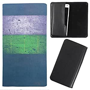 DooDa - For Lava V5 PU Leather Designer Fashionable Fancy Case Cover Pouch With Smooth Inner Velvet