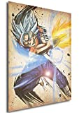 Instabuy Poster Dragon Ball Wanted Vegetto SSB - A3 (42x30 cm)
