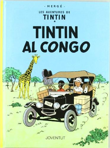 Tintín al Congo (LES AVENTURES DE TINTIN CATALA) por Herge