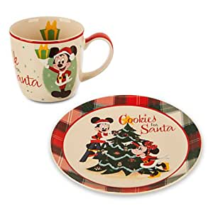 Cookies and Milk for Santa Official Disney Christmas collection (Retro)