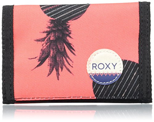 Roxy Damen Small Beach Hülle für Kreditkarten, Rose (AX Neon Grapefruit), 21x2x32 cm (Wallet Womens Velcro)