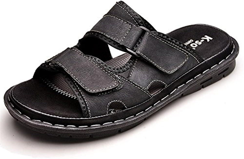 Huahua Los Hombres Sandalias De Verano Piscina Playa Zapatillas Zapatos Zapatos Cool Fondo Blando Senderismo para