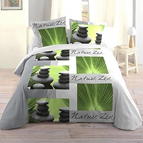 Housse De Couette 220 Nature - Lovely Casa HP31514001 Nature Zen Housse de